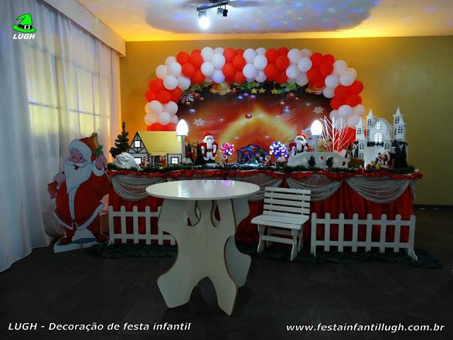 Decoração tema de Natal - Tradicional Luxo