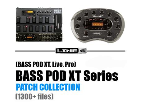 LINE 6 BASS POD XT Series PATCH COLLECTION ~ ampmarket
