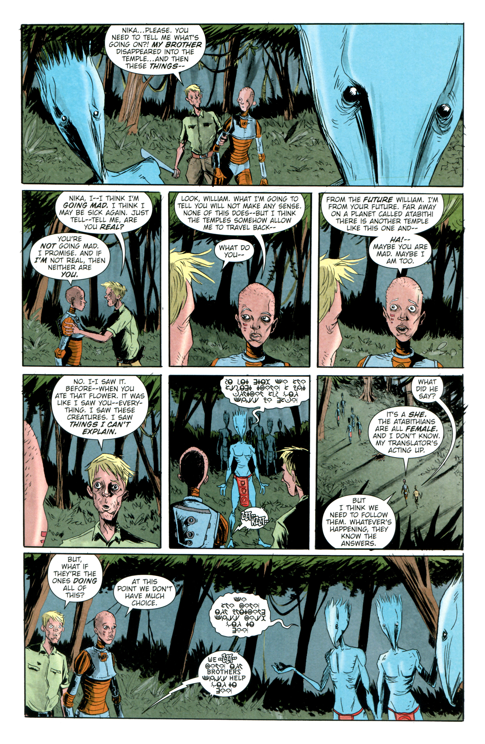 Read online Trillium comic -  Issue #4 - 6