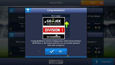 DLS Liga Gojek Traveloka Indonesia
