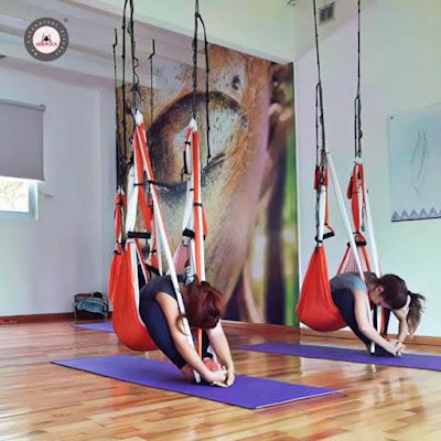 acreditación yoga aéreo