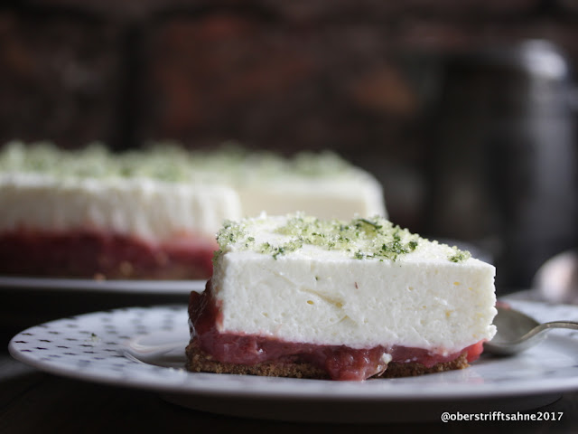 Rhabarber Cheescake ohne backen