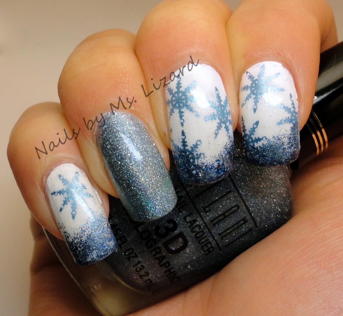 Nails by Ms. Lizard: Holiday Nail Art