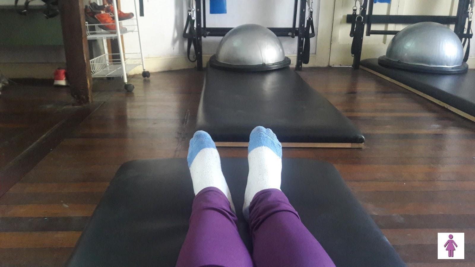 in Ladies Room: Pilates + Espacio Imagine