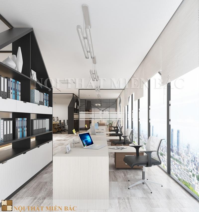 Thiết kế nội thất văn phòng tiện ích và sang trọng