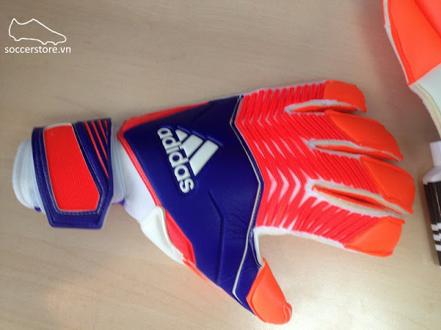 Adidas Predator Zones Fingertip Promo Night Flash- Solar Red- White GK Gloves (14)