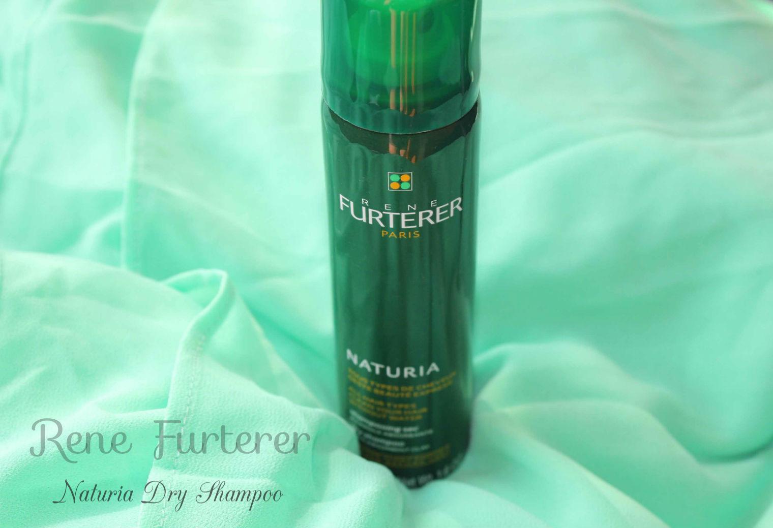 Отзыв: Сухой шампунь Натурия - Rene Furterer Naturia Dry Shampoo.