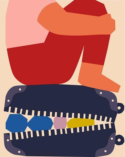 ilustraciones por Anna Kövecses | creative line drawings, cool stuff, pictures | imagenes bellas chidas imaginativas, dibujos bonitos hermosos
