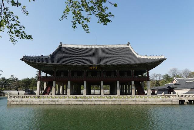 Seoul - Gyeongbokgung, Gyeonghoeru Pavilio