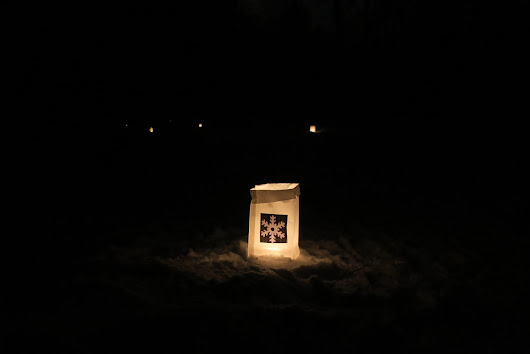 Candle Luminary Ski December 26,2018