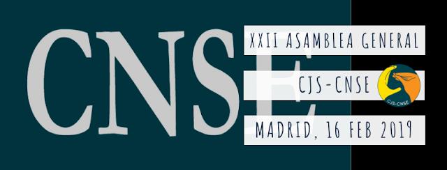 XXII Asamblea General CJS-CNSE