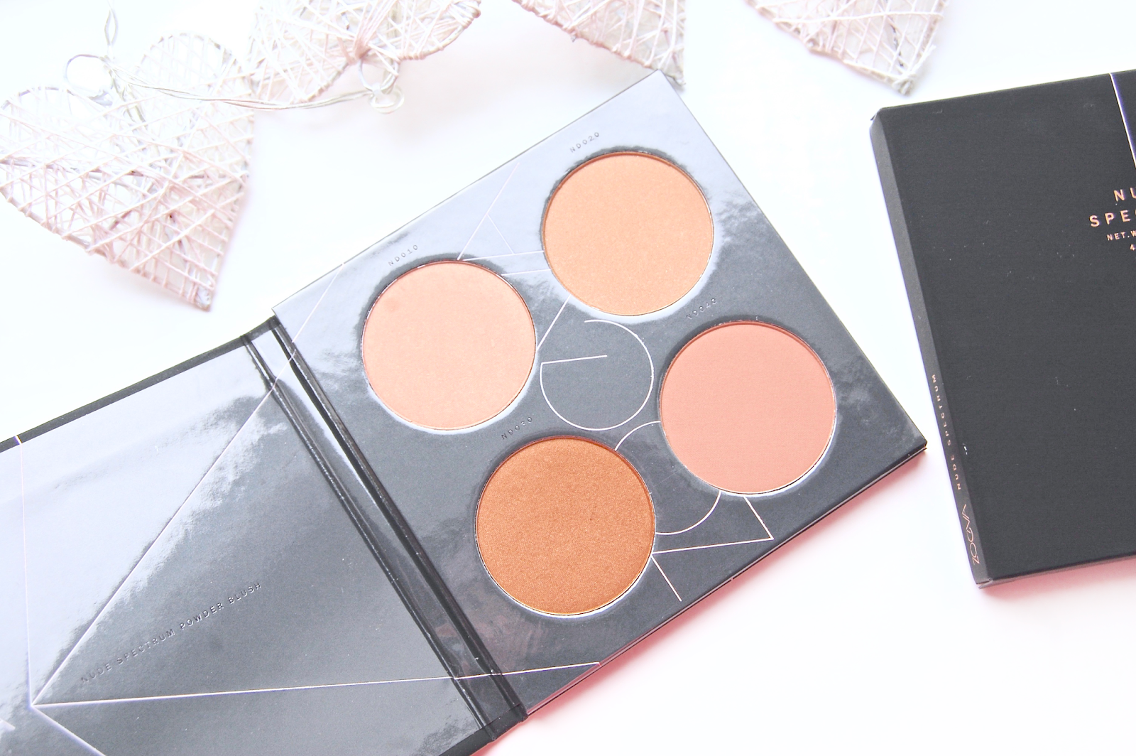 See my Zoeva Nude Spectrum review and swatches