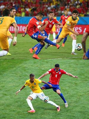 ブラジル対チリ
