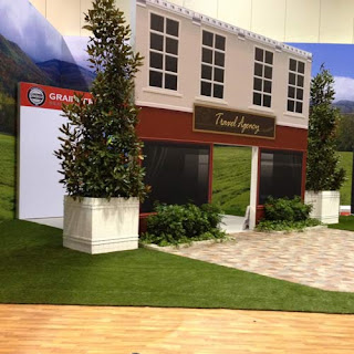 Greatmats trade show artificial turf flooring