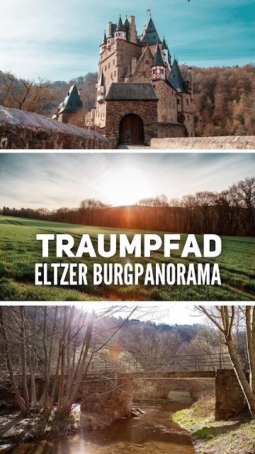 Traumpfad Eltzer-Burgpanorama | Premiumwanderweg | Traumpfade Rhein-Mosel-Eifel-Land | Wanderung Burg-Eltz