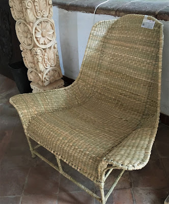 Furniture made with Vegetal Fibers in Ihuatzio
