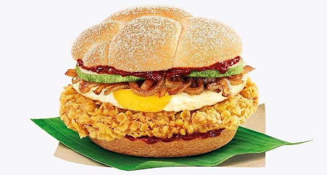 McDonald's Nasi Lemak Burger 麦当劳椰浆饭汉堡包 Coming Soon On This Thursday 26 April 2018 !