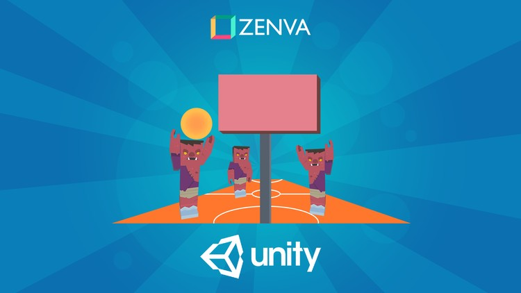 Unity Game Development - Build a Basketball Game - Udemy course