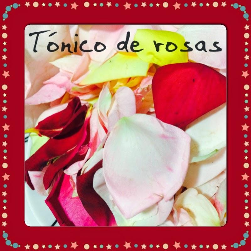 Tónico de rosas para el rostro