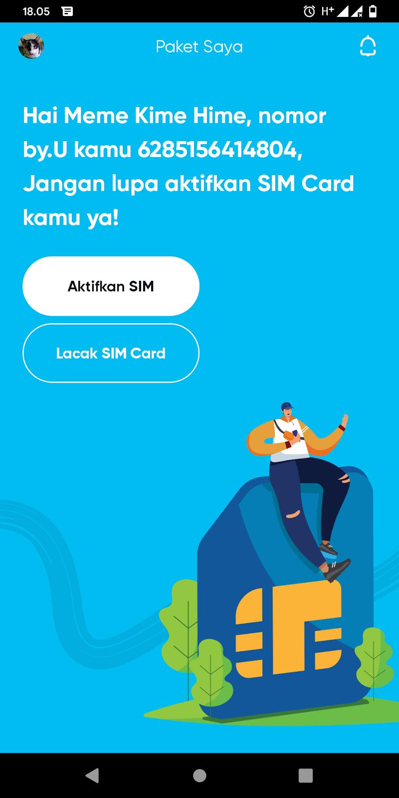 Cara Registrasi Kartu Perdana by.U Telkomsel