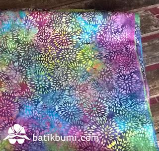 batik cap motif abstrak