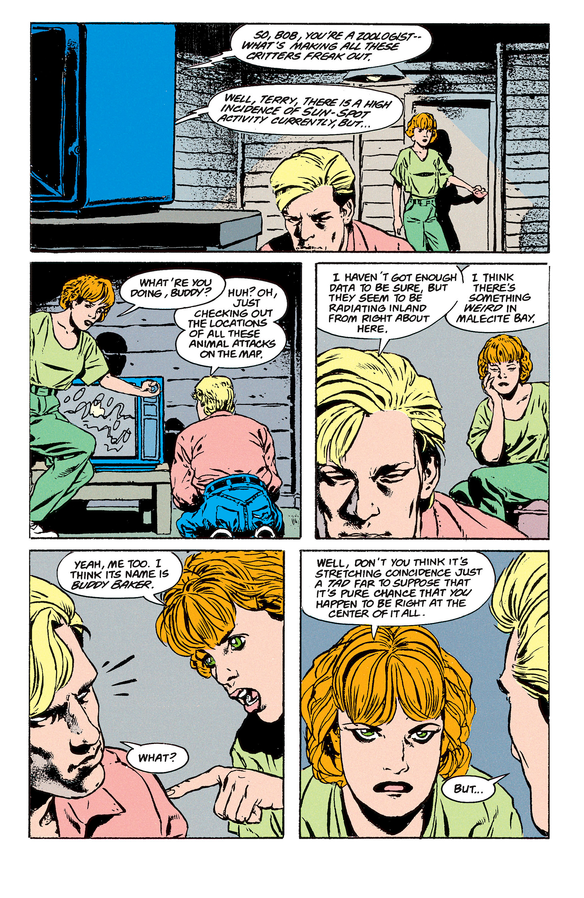 Read online Animal Man (1988) comic -  Issue #62 - 14
