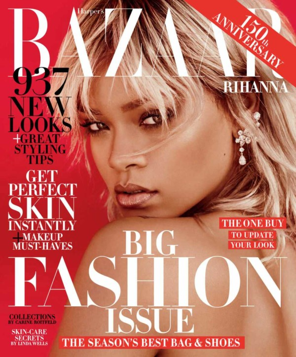 Rihanna Covers Harper's Bazaar's March 2017 Issue