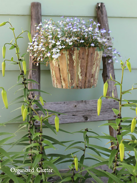 My Friend Danita's Rustic Garden Decor | Organized Clutter