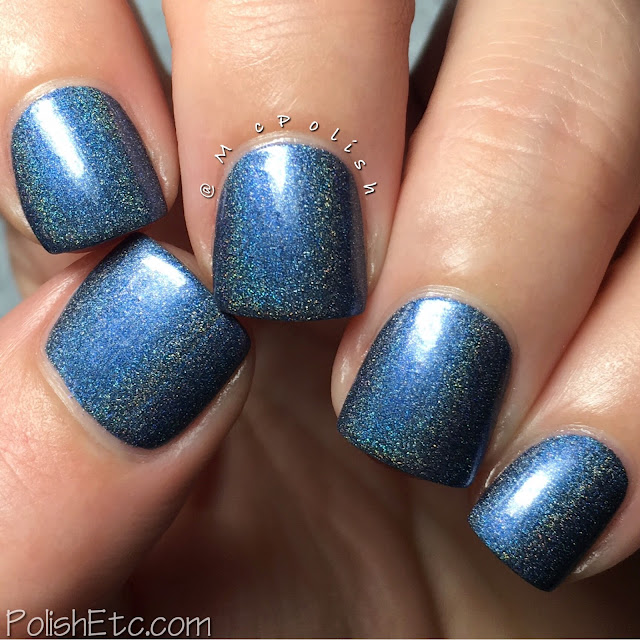 Nine Zero Lacquer - Men of Letters Collection - McPolish - Lucifer's Cage