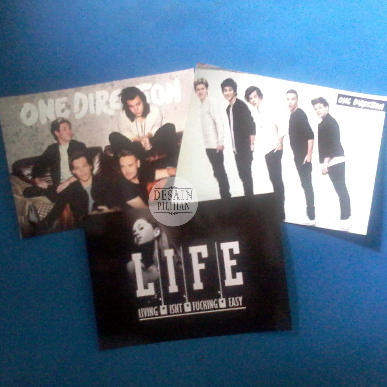 POSTER CUSTOM, POSTER ONE DIRECTION, POSTER LIFE