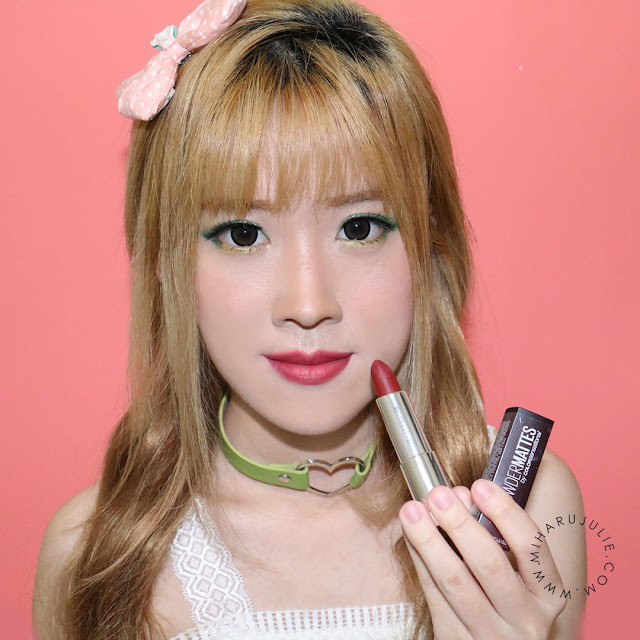 maybelline powder matte lipstick plum perfection review