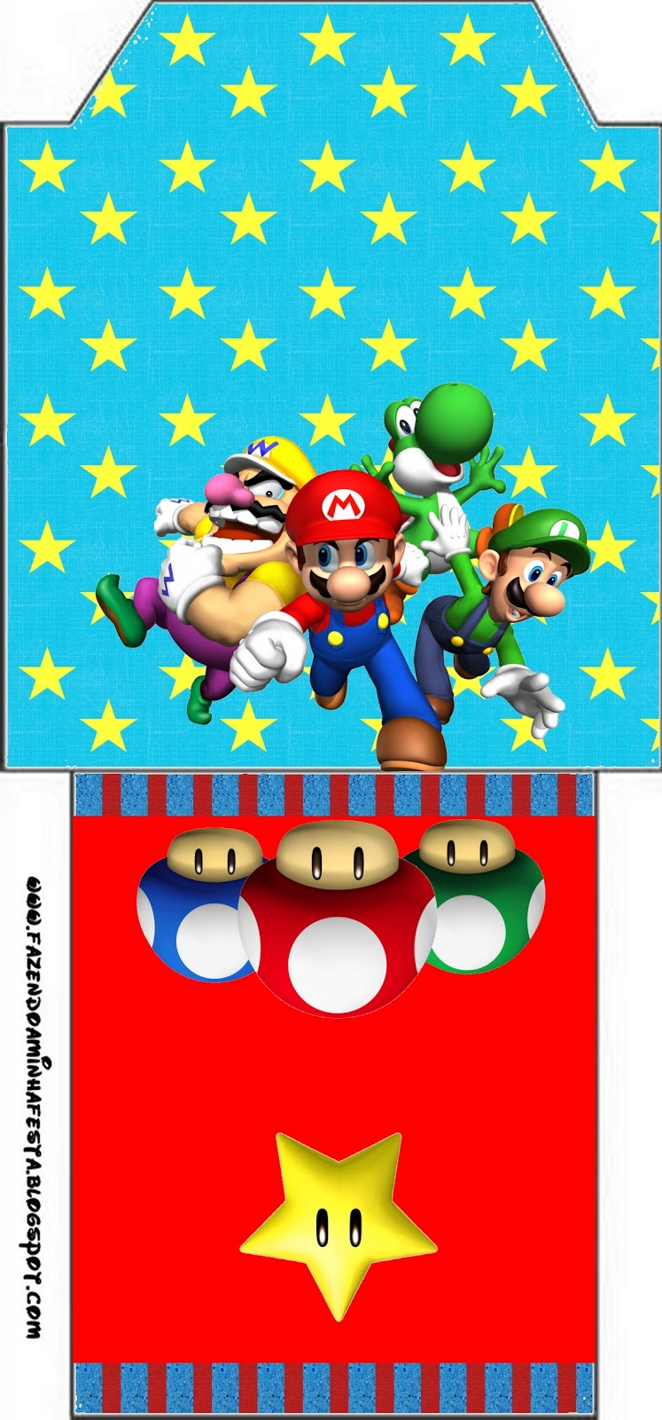 Super Mario Bros Free Party Printables Images And