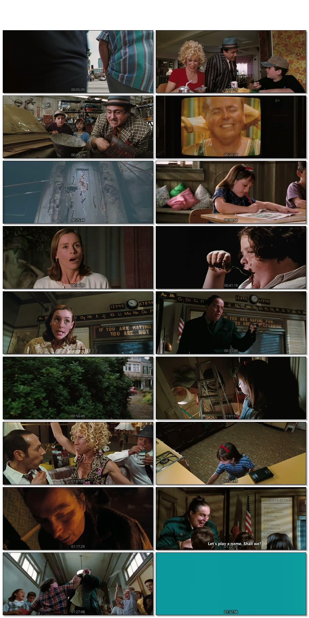 Screen Shot Of Matilda 1996 300MB Full Movie Hindi Dubbed Free Download 480P BRRip Small Size PC Movie