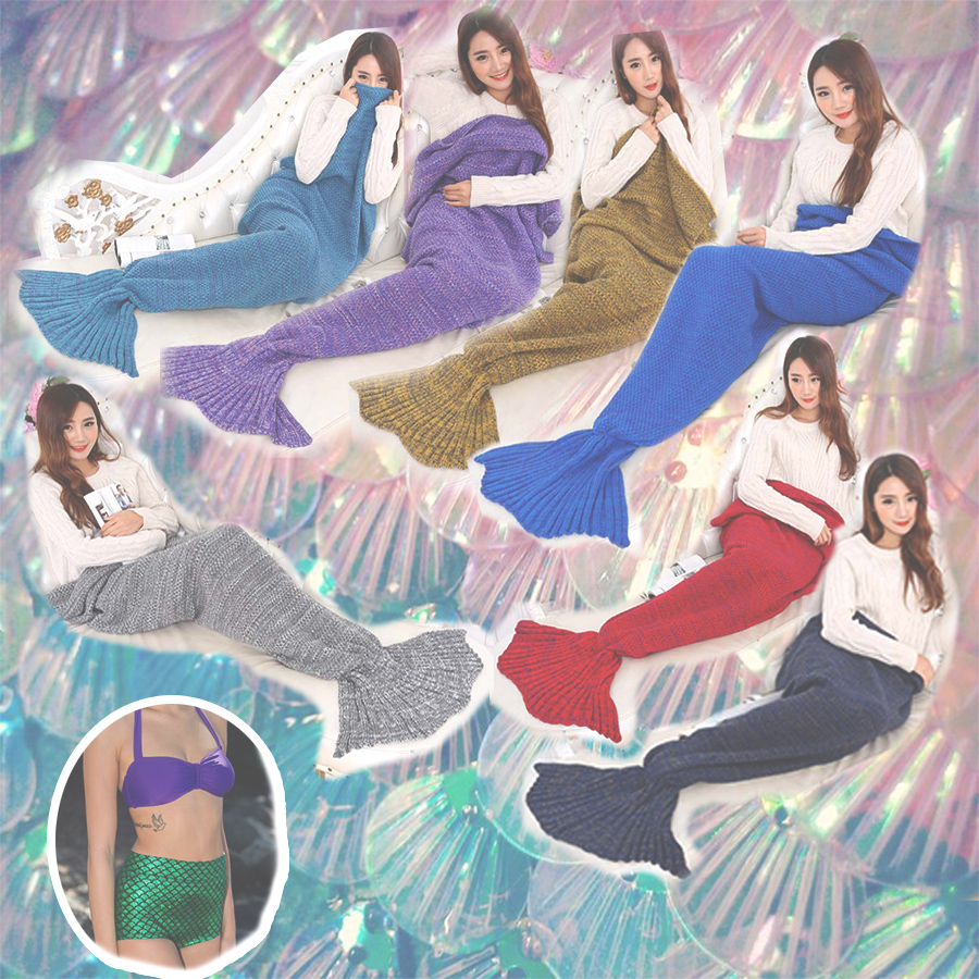 cobertor cauda de sereia onde comprar online várias cores, rosegal, ingrid gleize