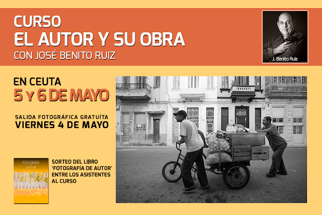 """Curso """"El Autor y su Obra"""" con José Benito Ruiz"""
