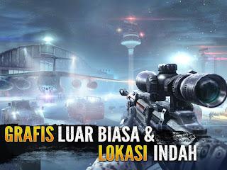 Sniper Fury : best shooter game MOD v1.7.1a Apk (Unlimited Ammo + Gold) Terbaru 2016 2