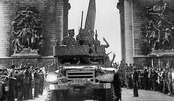 Madrid homenajea a los republicanos que liberaron París del nazismo