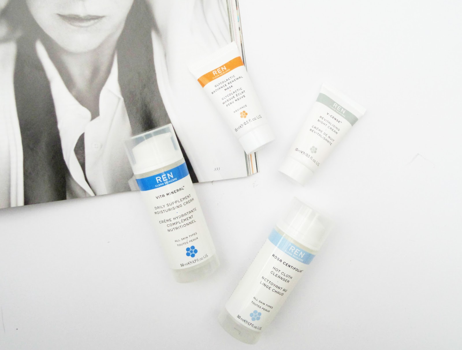 REN Skincare Favourites, the Clean Skincare Set