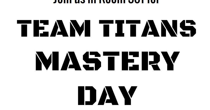 MrIppolito.com: Improve Your Grade With Mastery Days
