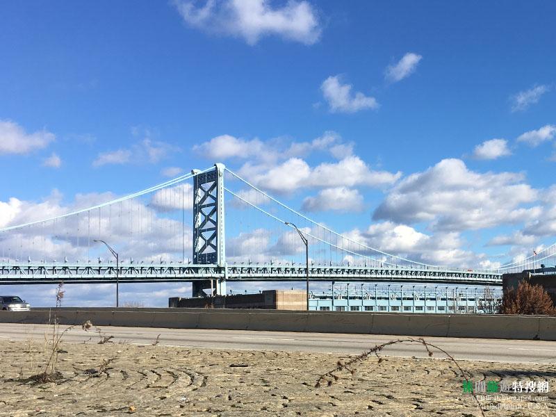 [美國.費城] 聖誕假期美國行(6)自由鐘 富蘭克林故居 富蘭克林大橋
