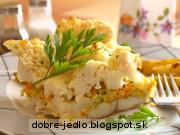 Zapekaná treska s karfiolom - recept