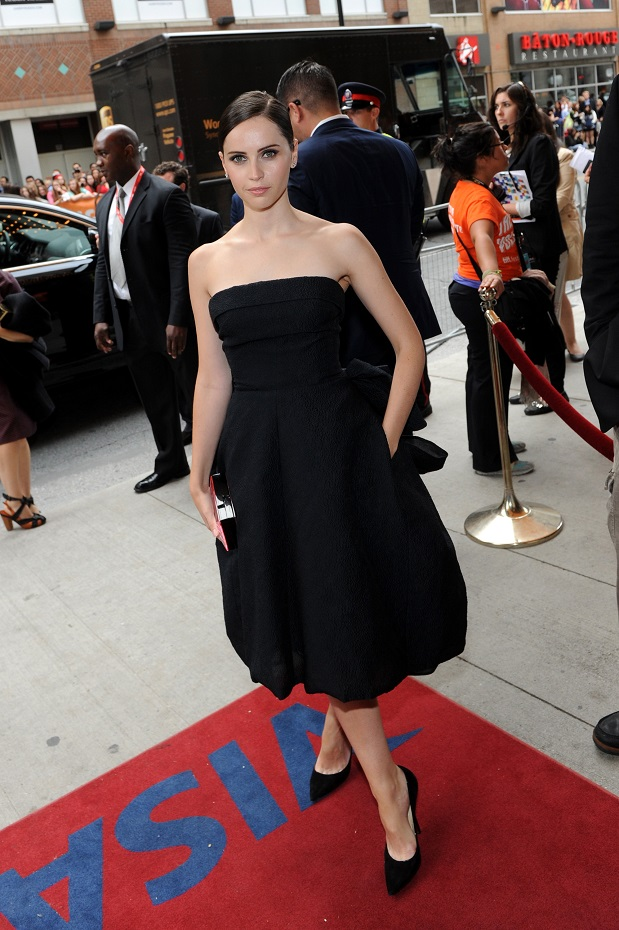 Felicity Jones Flaunts Christian Dior At The Invisible