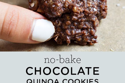 No-Bake Chocolate Quinoa Cookies