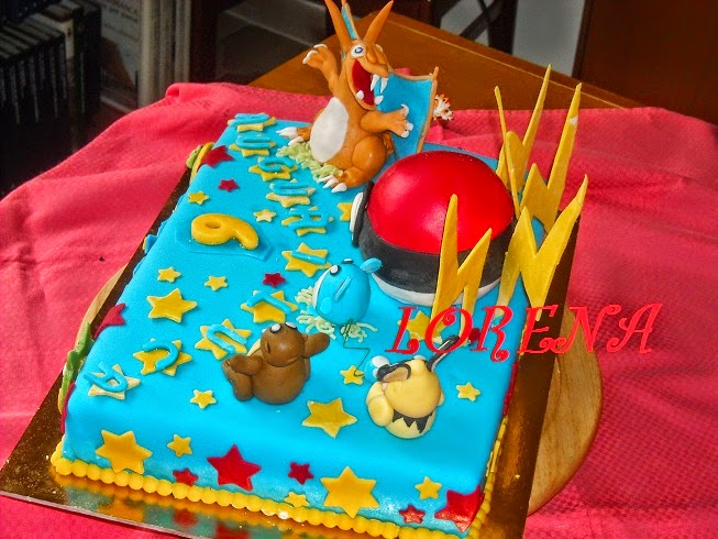 le torte di lorena e non solo torta pokemon per luca. Black Bedroom Furniture Sets. Home Design Ideas