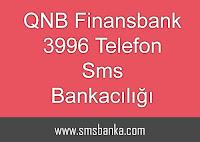 QNB Finansbank 3996 Telefon Sms Bankacılığı