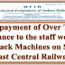 Non-payment of Over Time Allowance for Track Machines Worker in Railways - NFIR writes to Railway Board