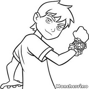 Ben 10 Clipart Black And White Basketball 50 Photos On This