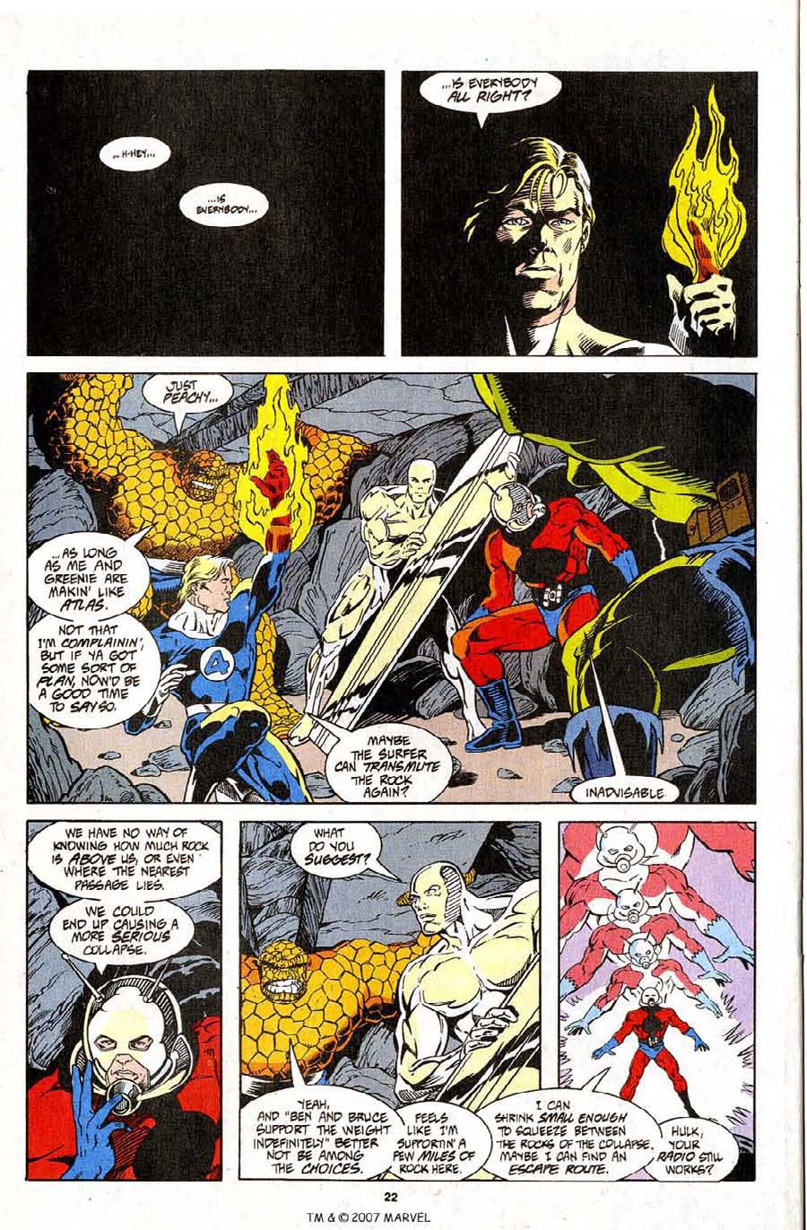 Read online Silver Surfer (1987) comic -  Issue #96 - 24