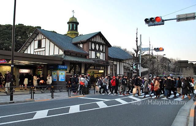 Train Station at Harajuku