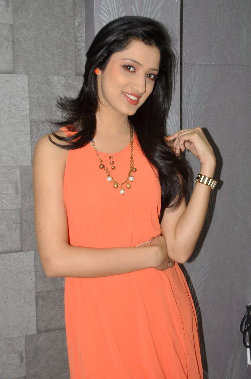 Cute Richa panai at naturals rajamundry branch launch